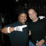 tom with carter beauford drummer for dave matthews band