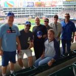 Robert Earl Keen band at texas rangers game