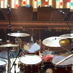 drumset at the ryman