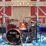 drumset at the ryman in nashville